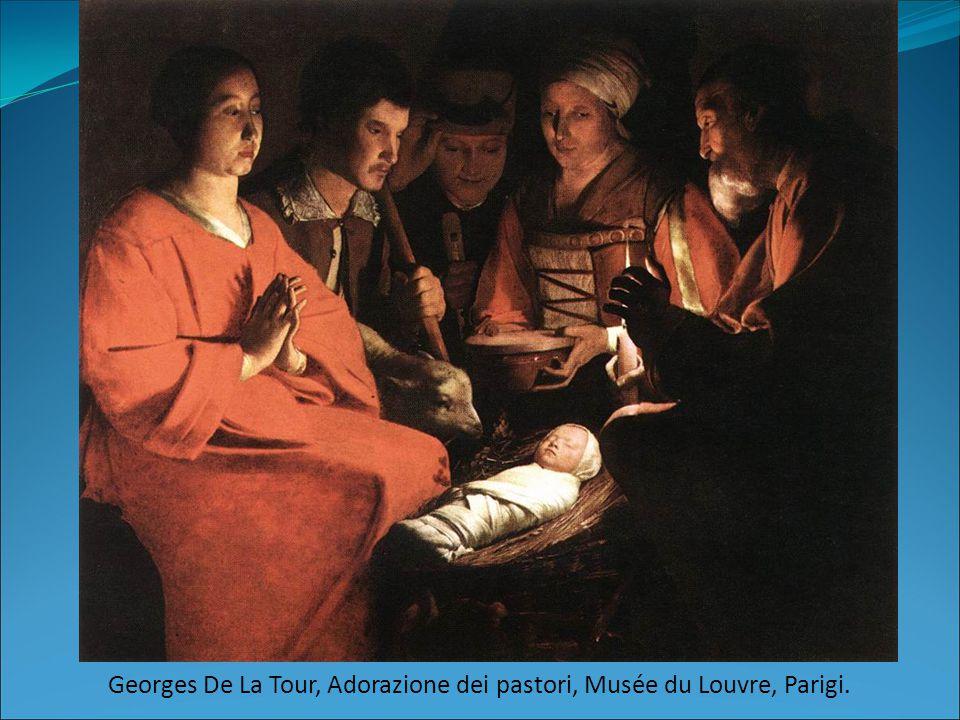 Georges De La Tour, Adorazione dei pastori, Musée du Louvre, Parigi.