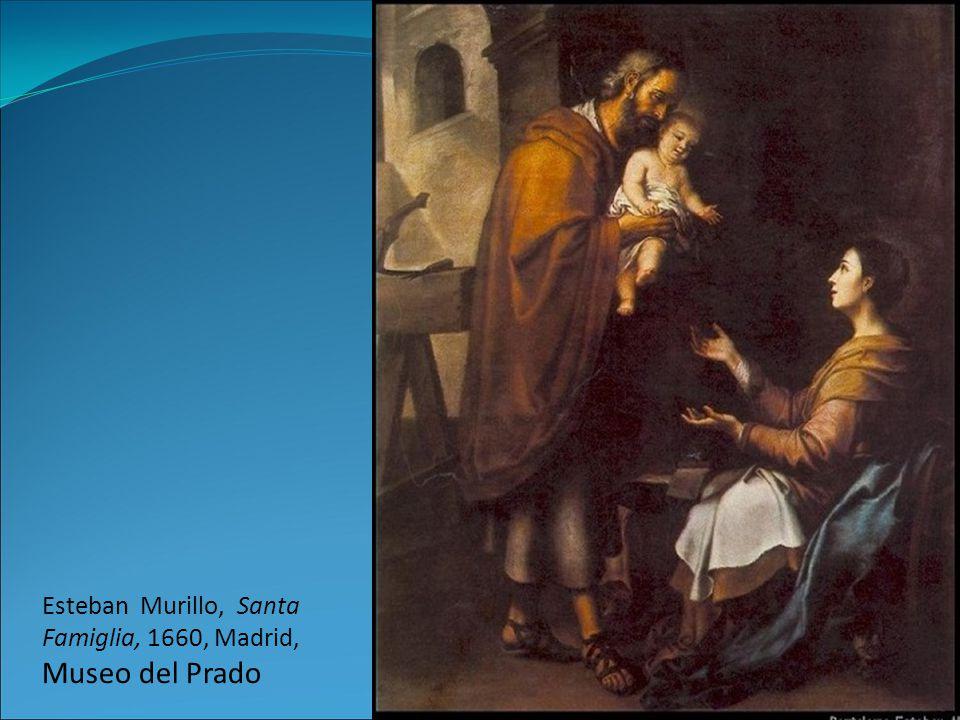 Esteban Murillo, Santa Famiglia, 1660, Madrid, Museo del Prado