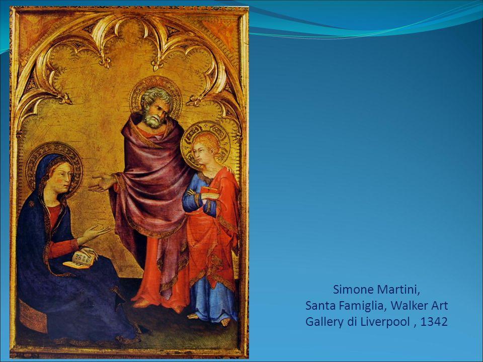 Simone Martini, Santa Famiglia, Walker Art Gallery di Liverpool , 1342