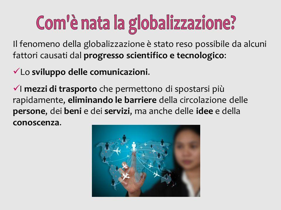 Com è nata la globalizzazione