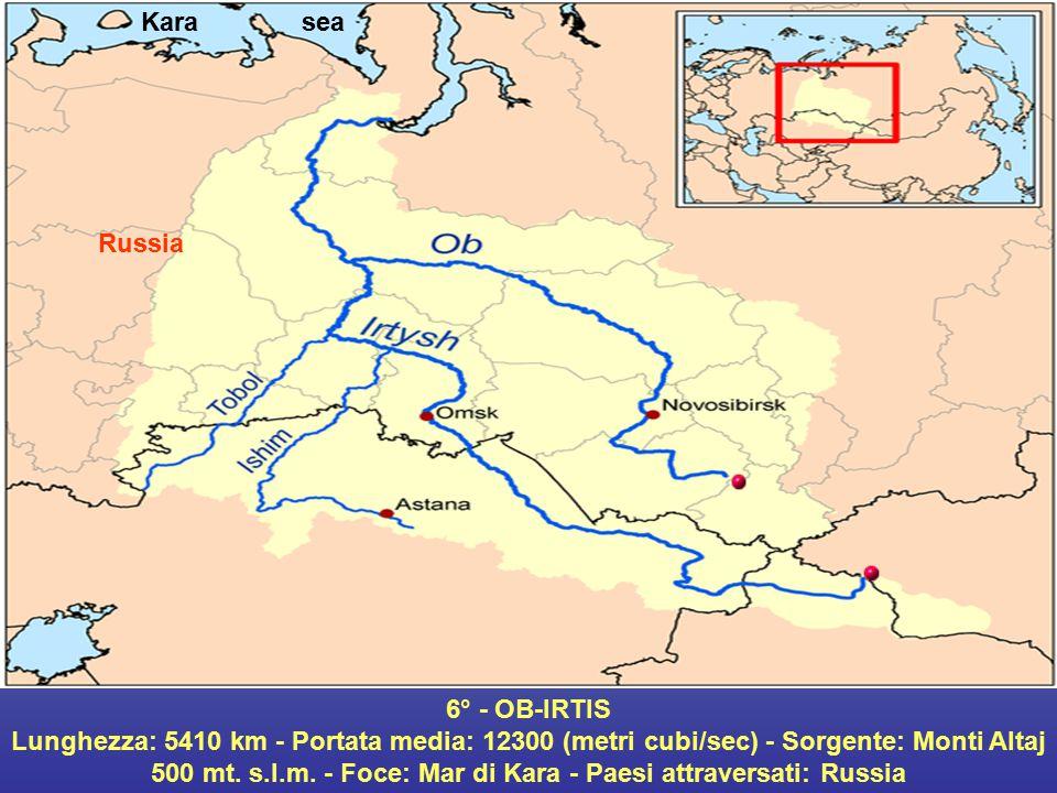 Kara sea Russia. 6° - OB-IRTIS.