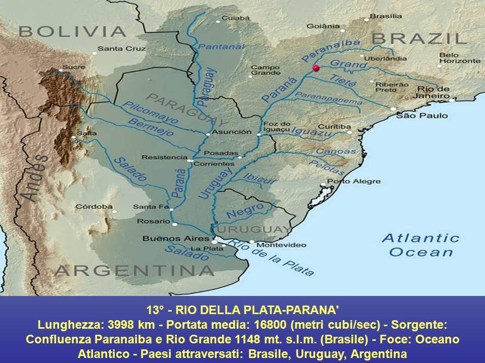13° - RIO DELLA PLATA-PARANA
