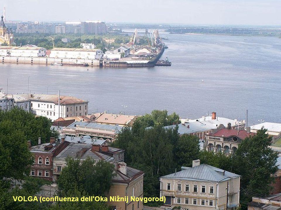 VOLGA (confluenza dell Oka Nižnij Novgorod)