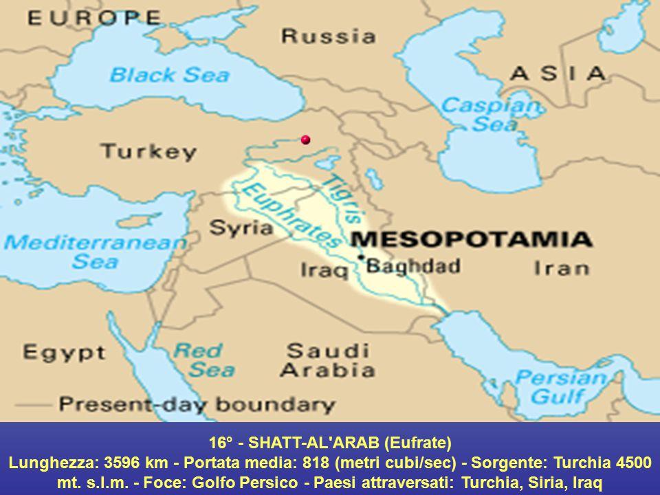 16° - SHATT-AL ARAB (Eufrate)