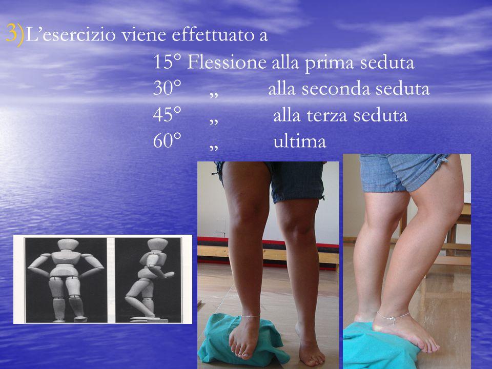 3)L'esercizio viene effettuato a