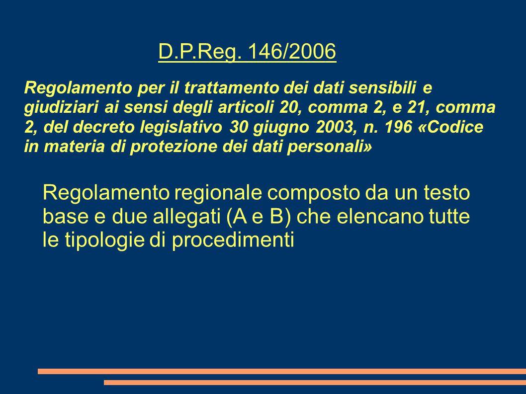 D.P.Reg. 146/2006