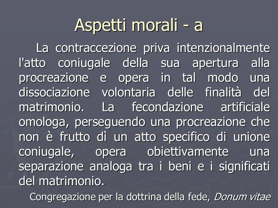 Aspetti morali - a