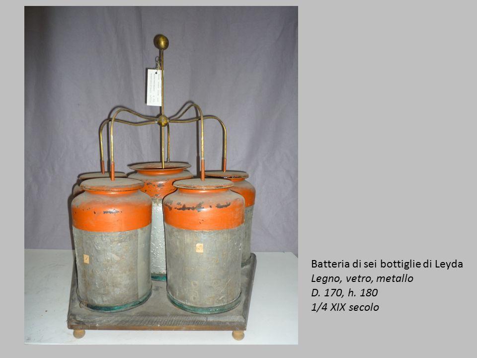Batteria di sei bottiglie di Leyda