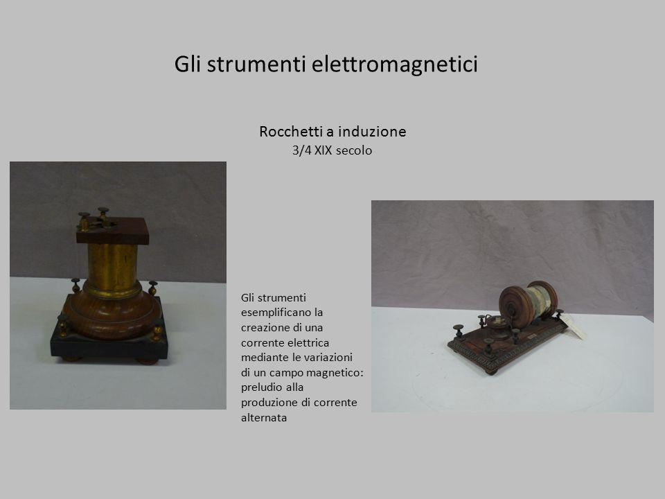 Gli strumenti elettromagnetici