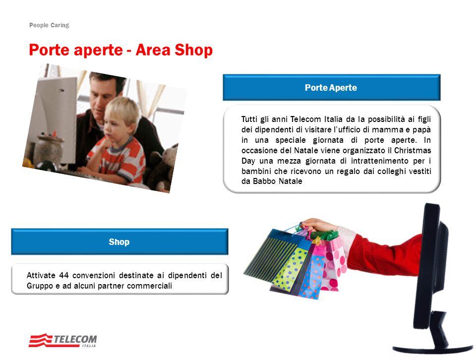 Porte aperte - Area Shop