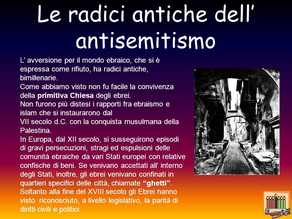 Le radici antiche dell' antisemitismo
