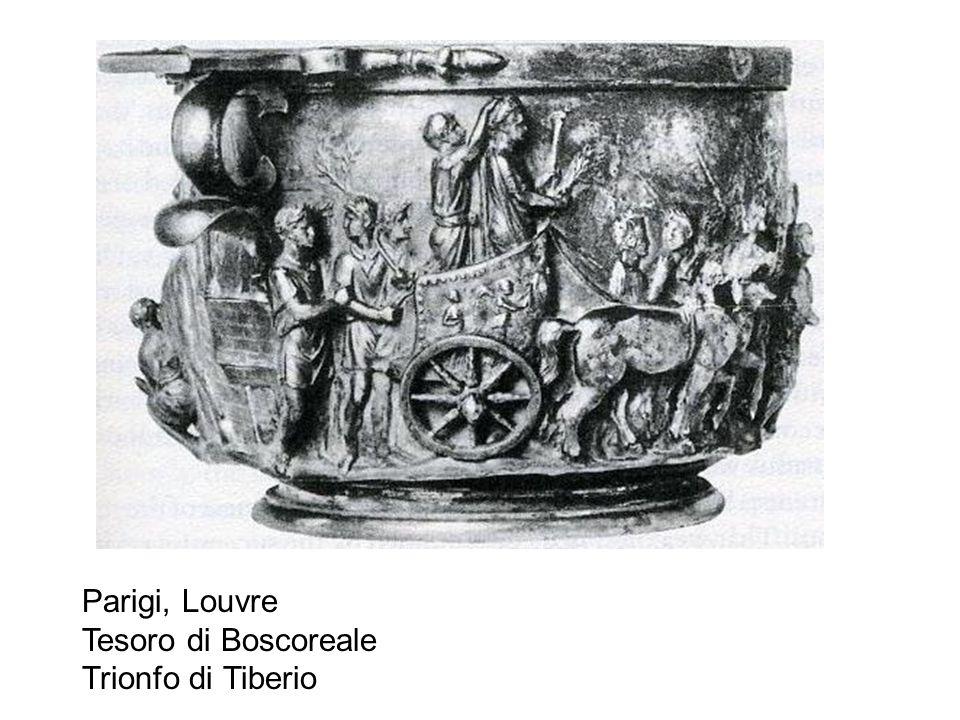 Parigi, Louvre Tesoro di Boscoreale Trionfo di Tiberio