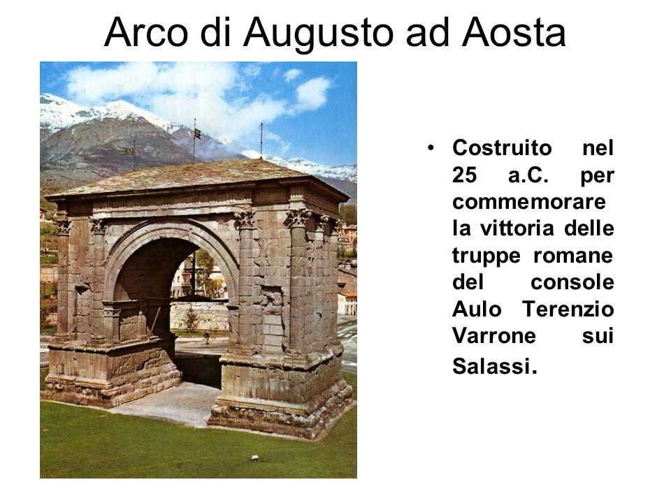 Arco di Augusto ad Aosta