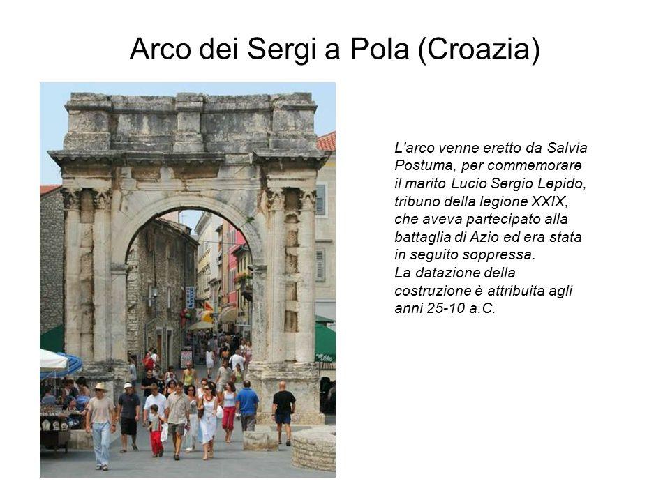 Arco dei Sergi a Pola (Croazia)
