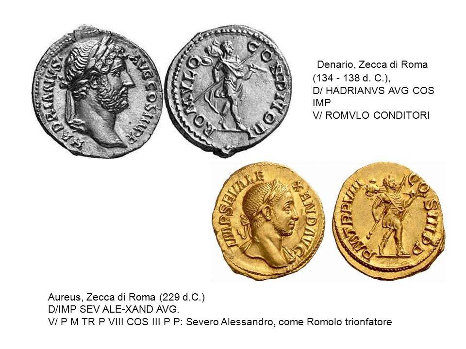 Denario, Zecca di Roma (134 - 138 d. C.),