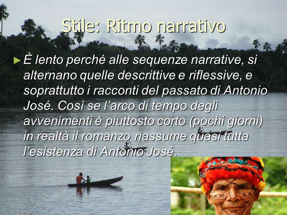 Stile: Ritmo narrativo