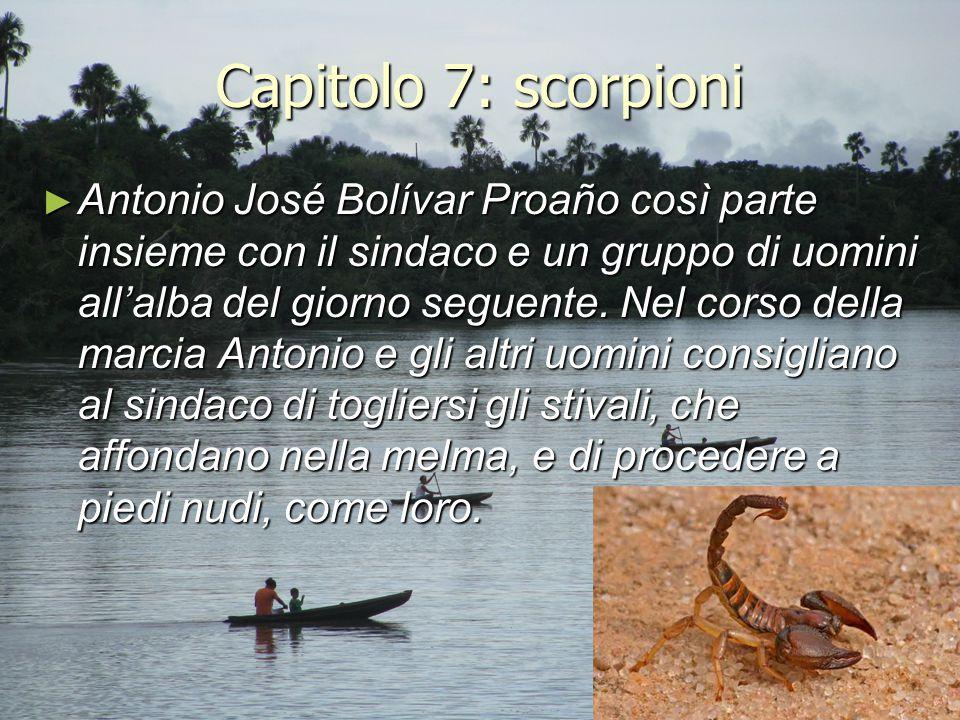 Capitolo 7: scorpioni
