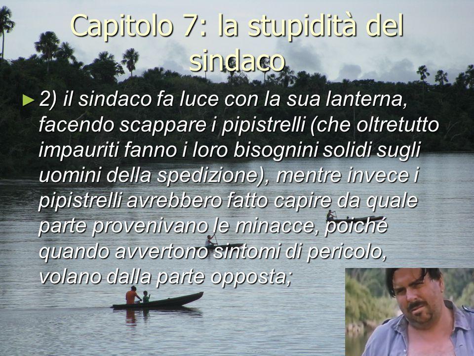 Capitolo 7: la stupidità del sindaco