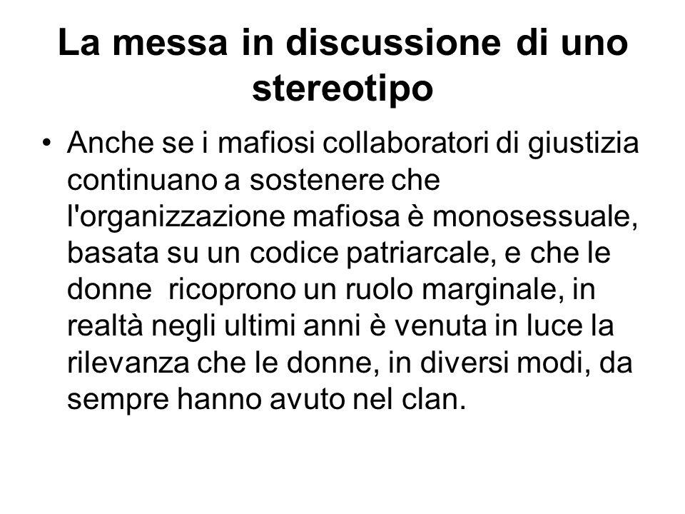 La messa in discussione di uno stereotipo