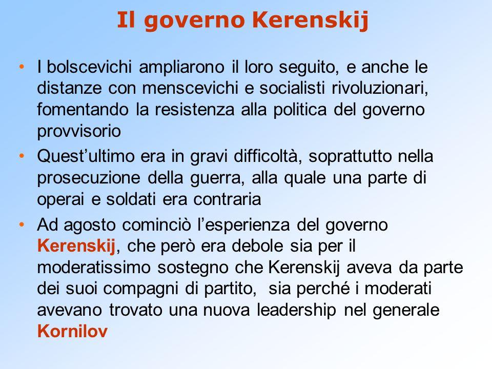 Il governo Kerenskij