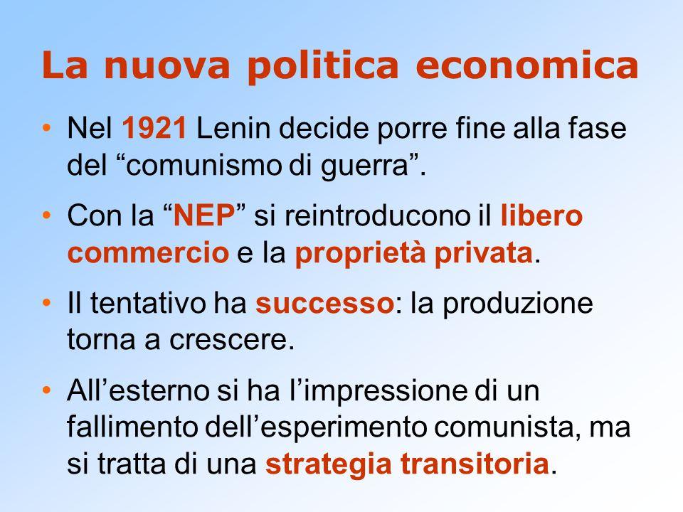 La nuova politica economica