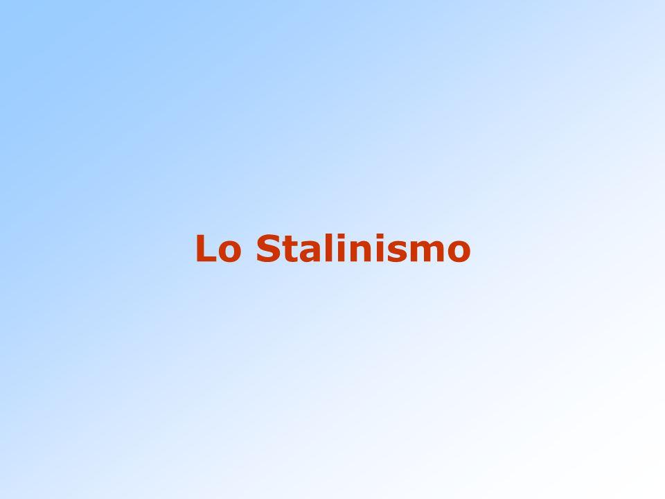 Lo Stalinismo
