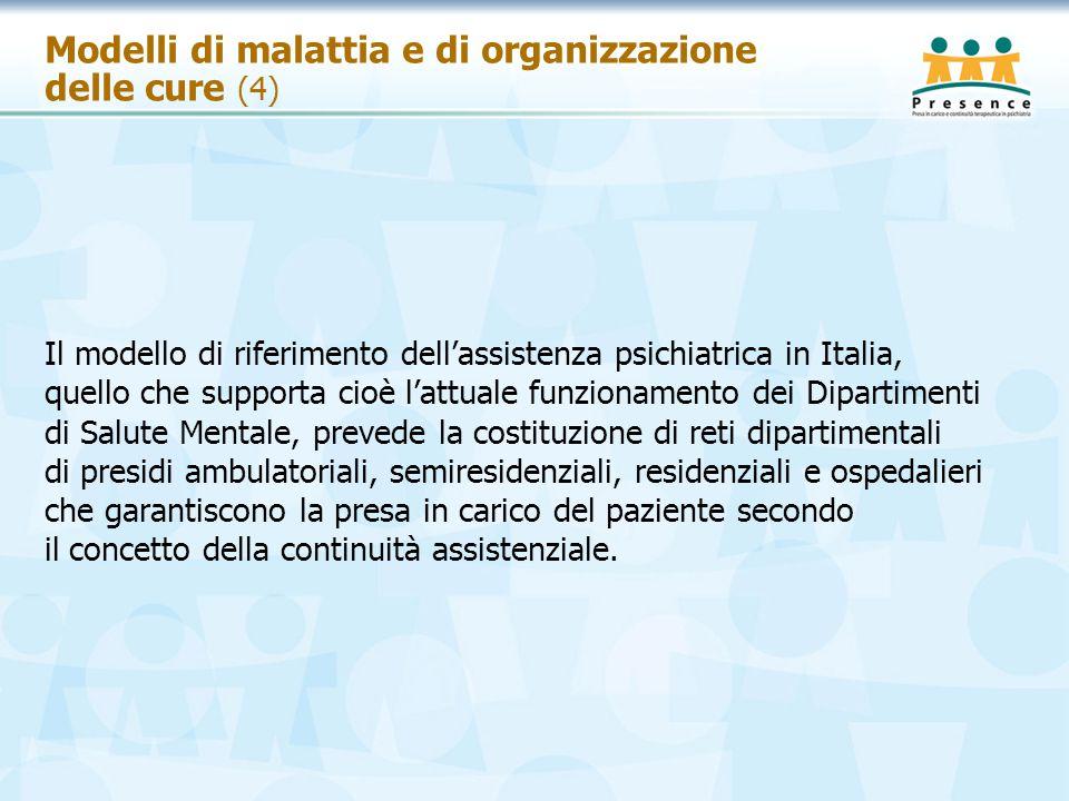 Modelli di malattia e di organizzazione delle cure (4)