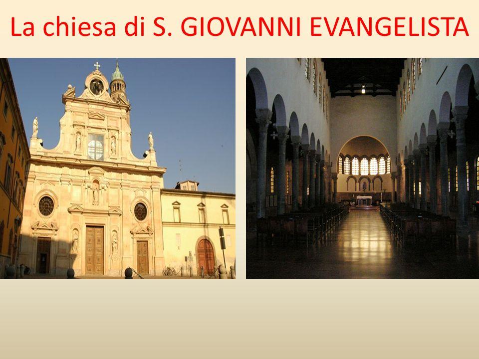 La chiesa di S. GIOVANNI EVANGELISTA