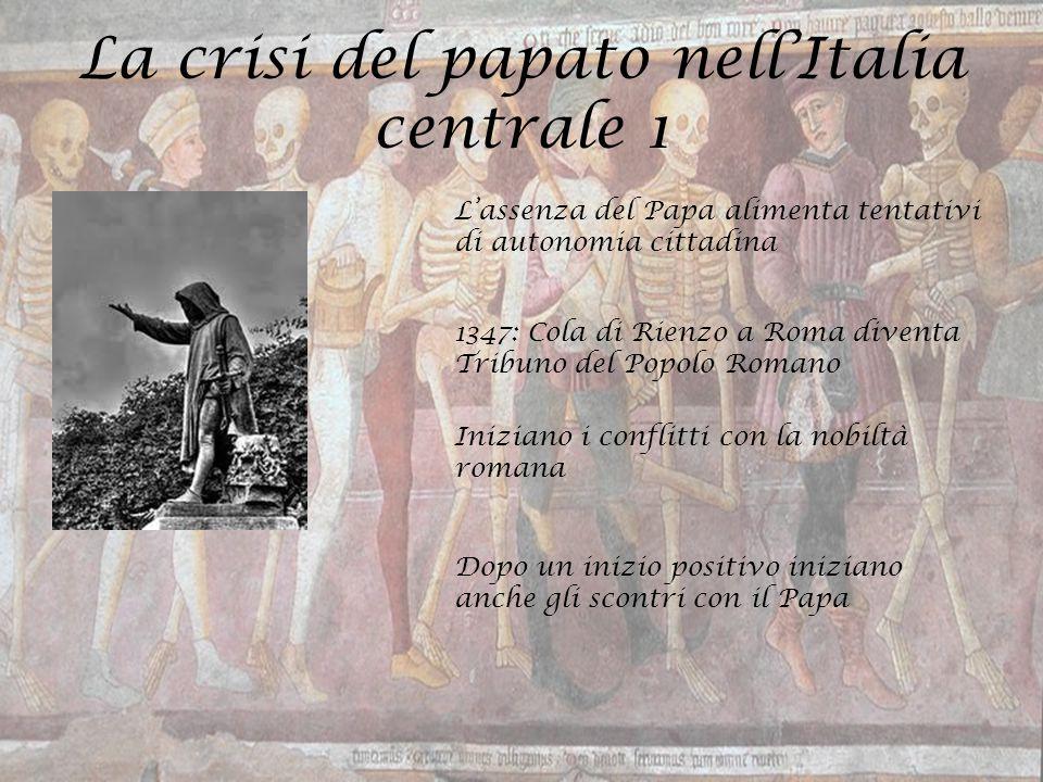 La crisi del papato nell'Italia centrale 1