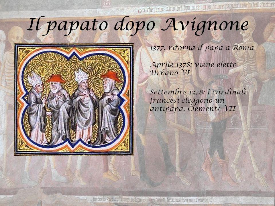 Il papato dopo Avignone