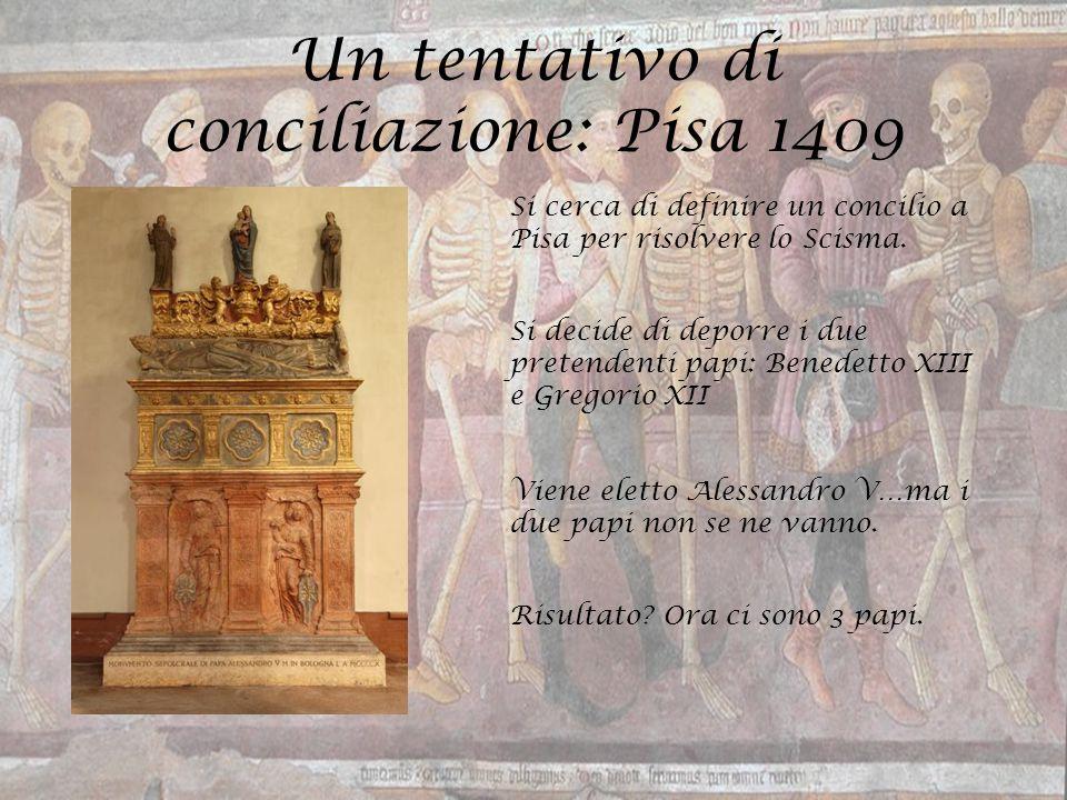 Un tentativo di conciliazione: Pisa 1409