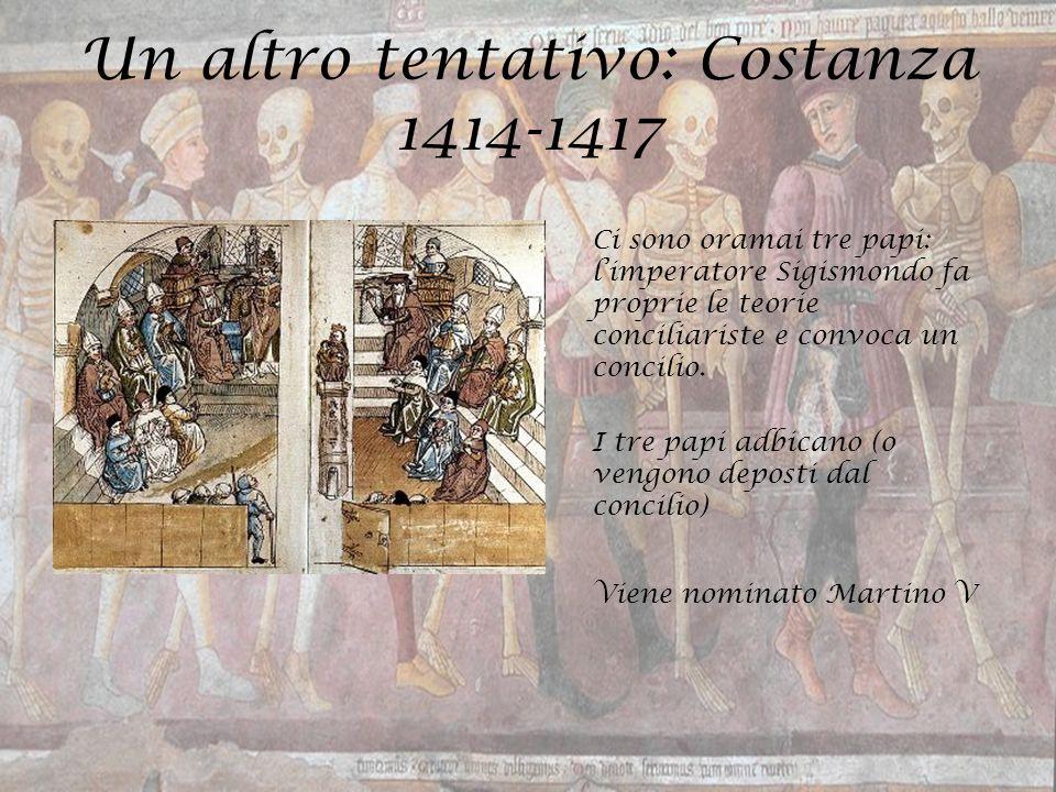 Un altro tentativo: Costanza 1414-1417