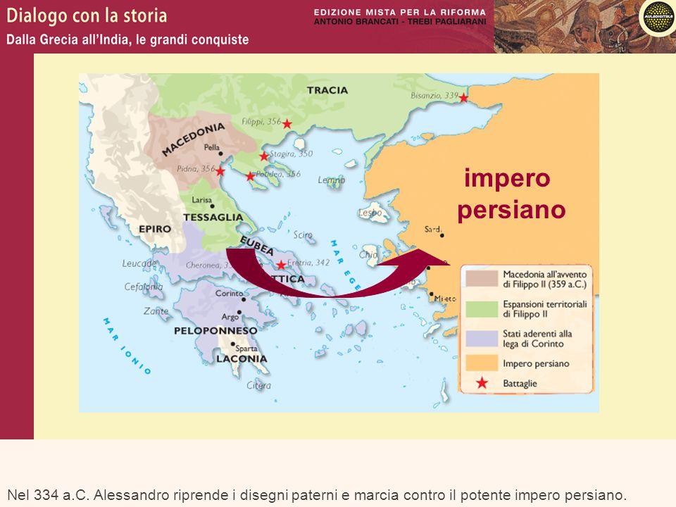 impero persiano. Nel 334 a.C.