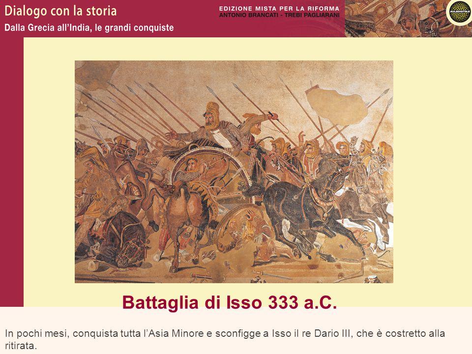 Battaglia di Isso 333 a.C.
