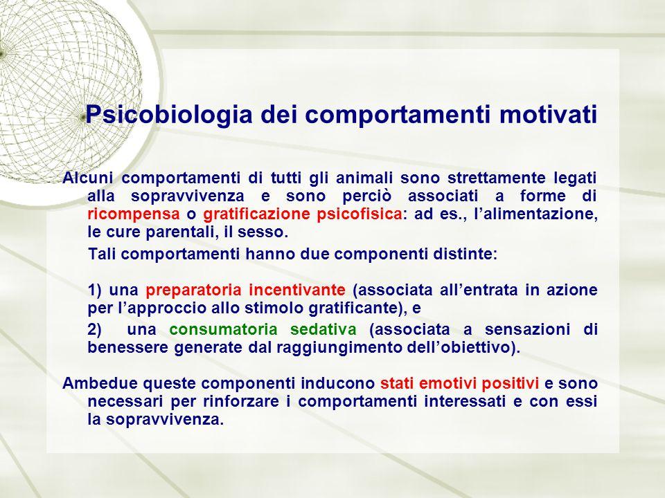 Psicobiologia dei comportamenti motivati