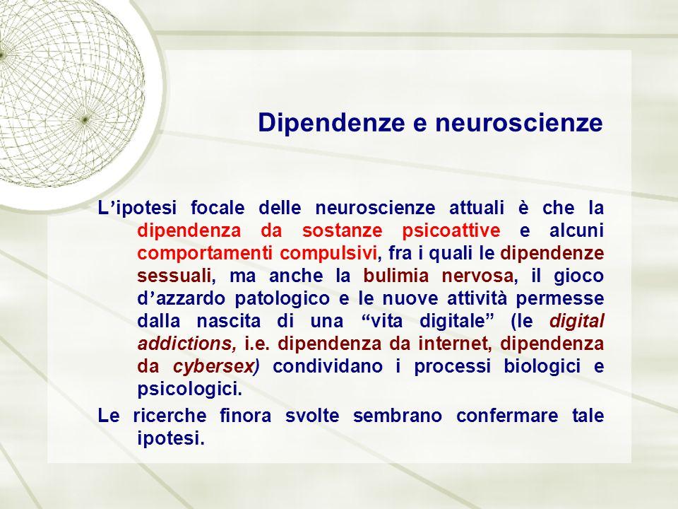 Dipendenze e neuroscienze