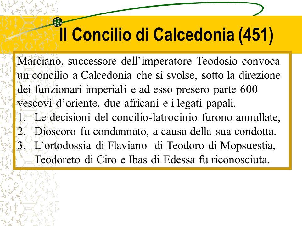 Il Concilio di Calcedonia (451)