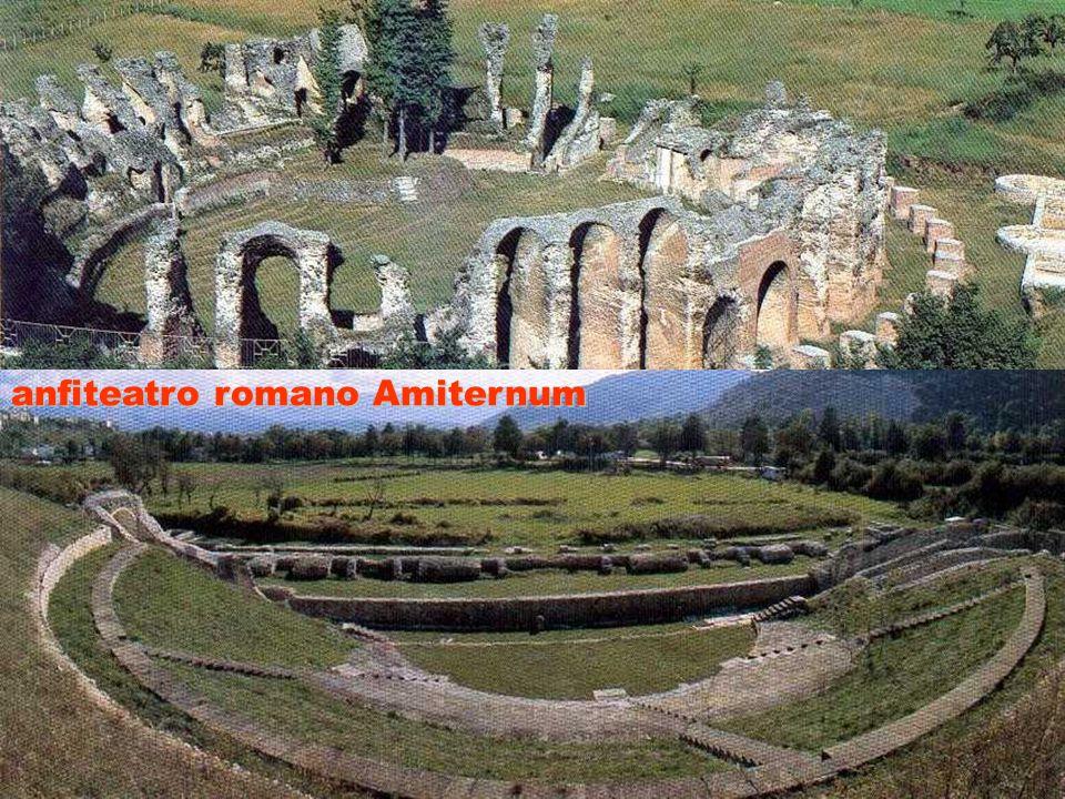 ITALIA AUGUSTEA S A M N I U M anfiteatro romano Amiternum