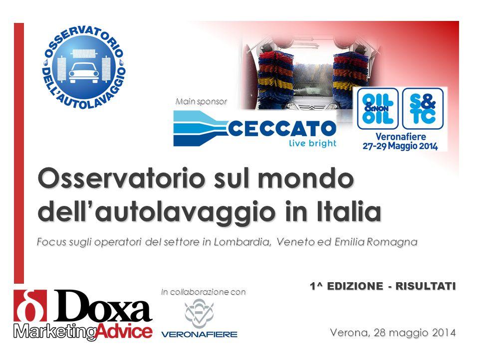 Osservatorio sul mondo dell'autolavaggio in Italia