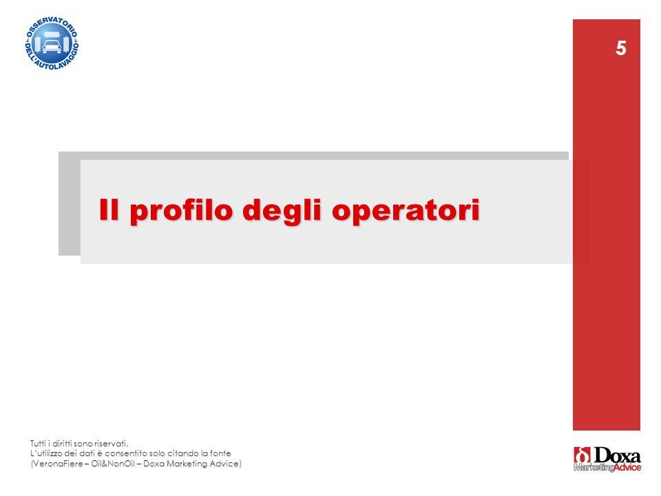 Il profilo degli operatori