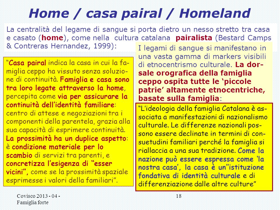 Home / casa pairal / Homeland