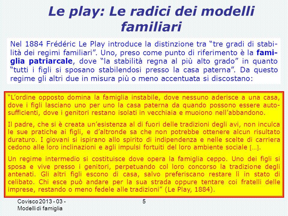 Le play: Le radici dei modelli familiari