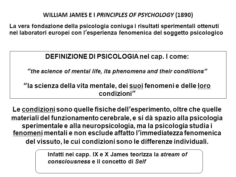 WILLIAM JAMES E I PRINCIPLES OF PSYCHOLOGY (1890)