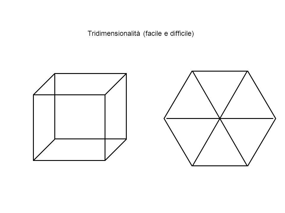 Due cubi Tridimensionalità (facile e difficile)