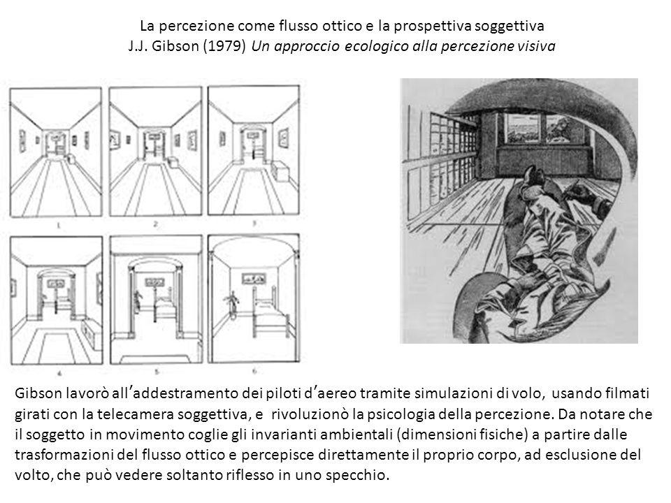 La percezione come flusso ottico e la prospettiva soggettiva
