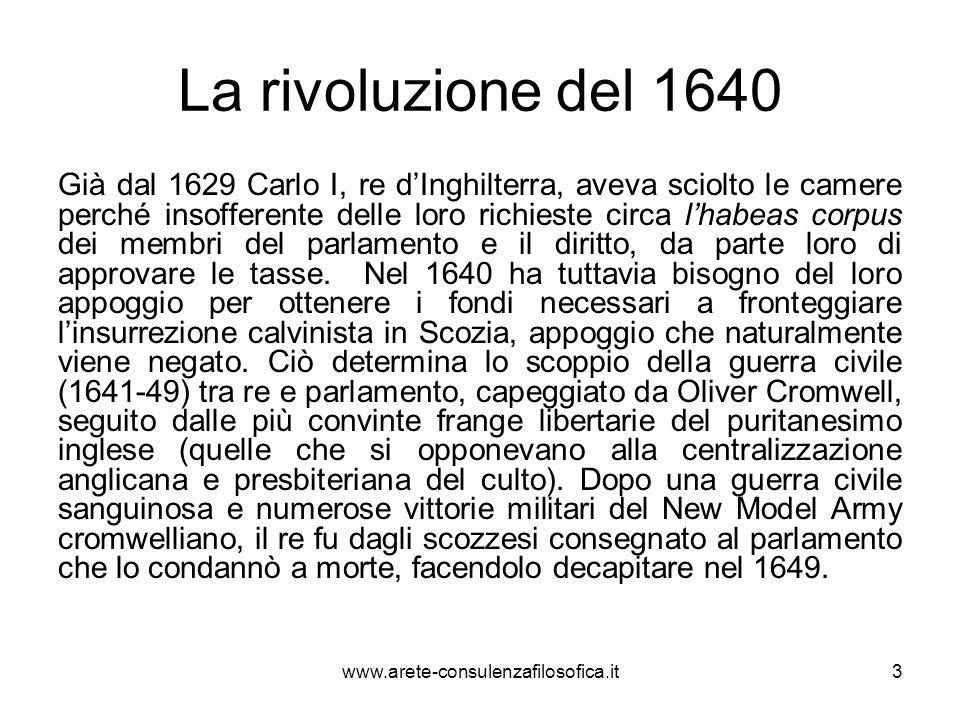 La rivoluzione del 1640