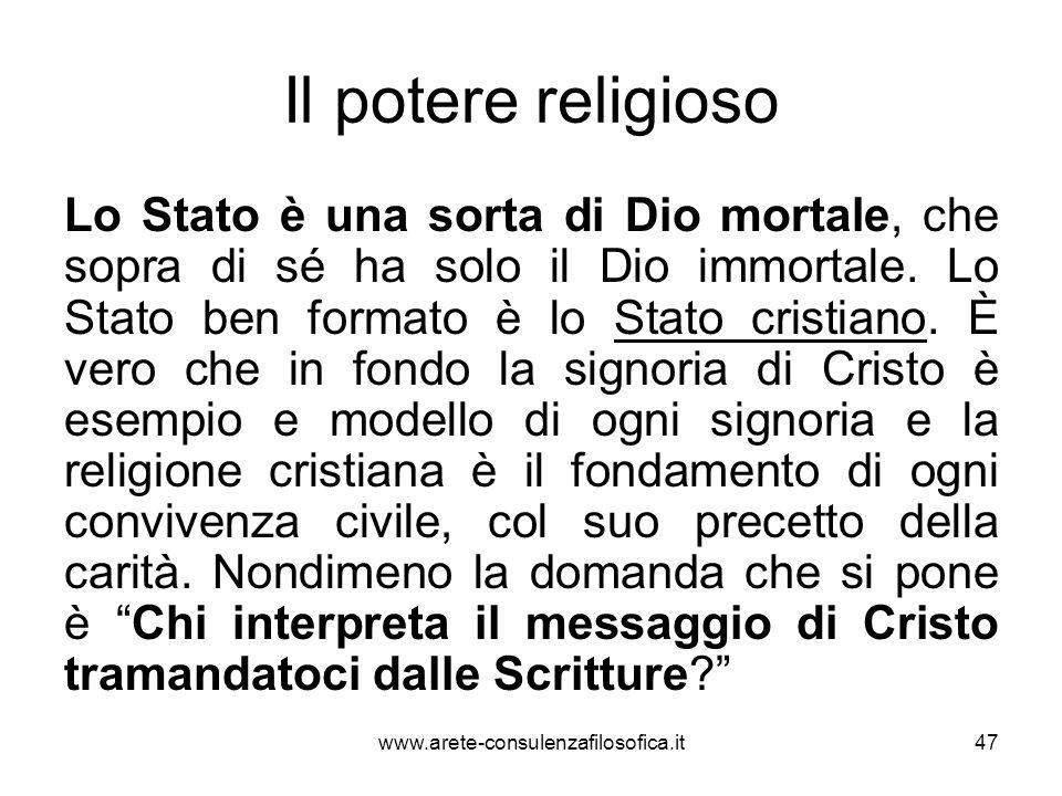 Il potere religioso