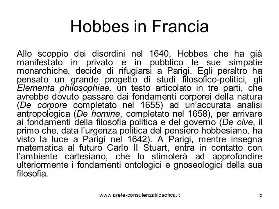 Hobbes in Francia