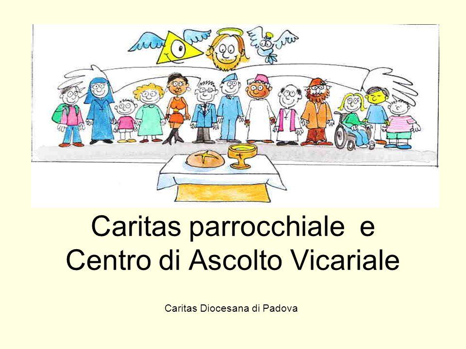 Caritas parrocchiale e Centro di Ascolto Vicariale