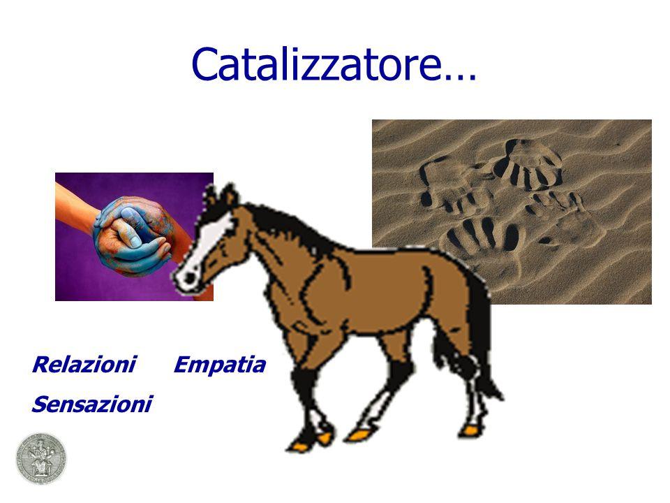 Catalizzatore… Relazioni Empatia Sensazioni